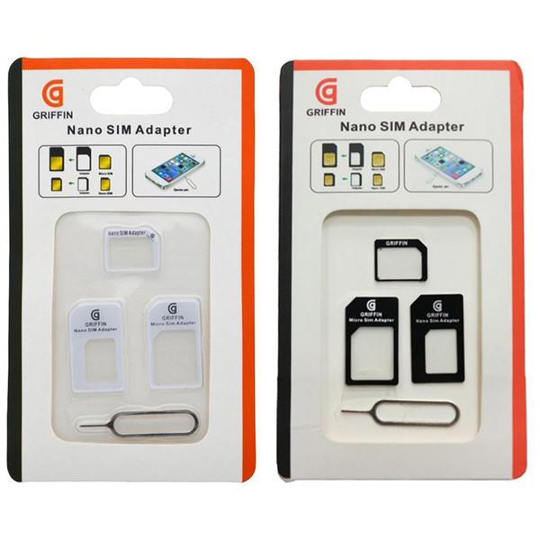 تبدیل سیم کارت نانو و میکرو به استاندارد گریفین مدل A1 بسته دو عددی