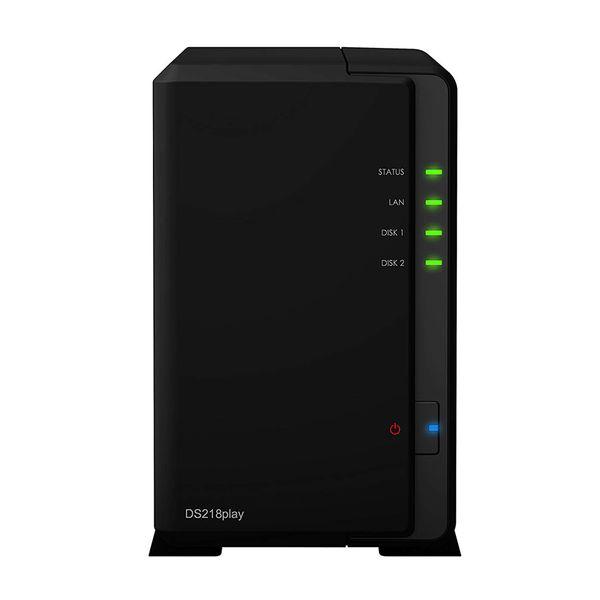 ذخیره ساز تحت شبکه 2Bay سینولوژی مدل DS218Play