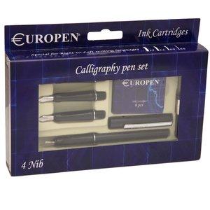 ست خوش نویسی یوروپن - به همراه 4 عدد نوک