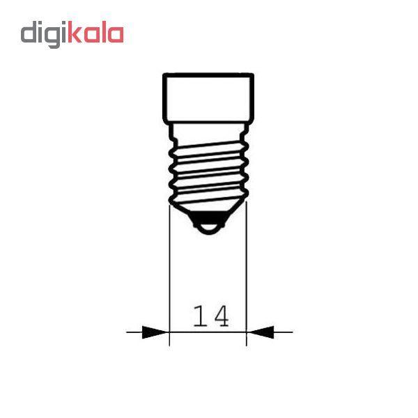 لامپ ال ای دی فیلامنت 4 وات پایه E14 کد 1004/5 بسته 5 عددی  main 1 2