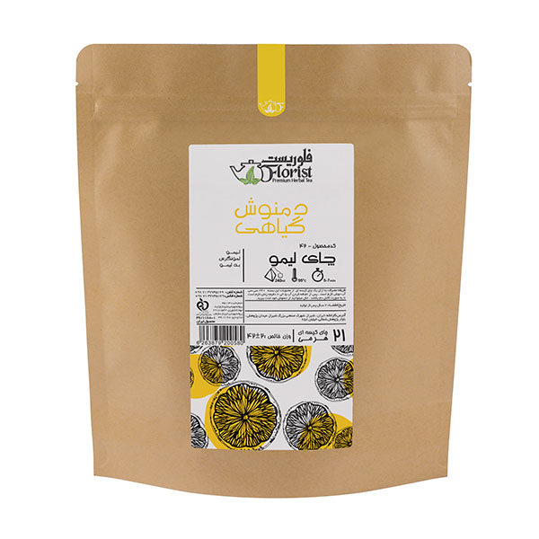 دمنوش گیاهی چای لیمو فلوریست 42 گرمی
