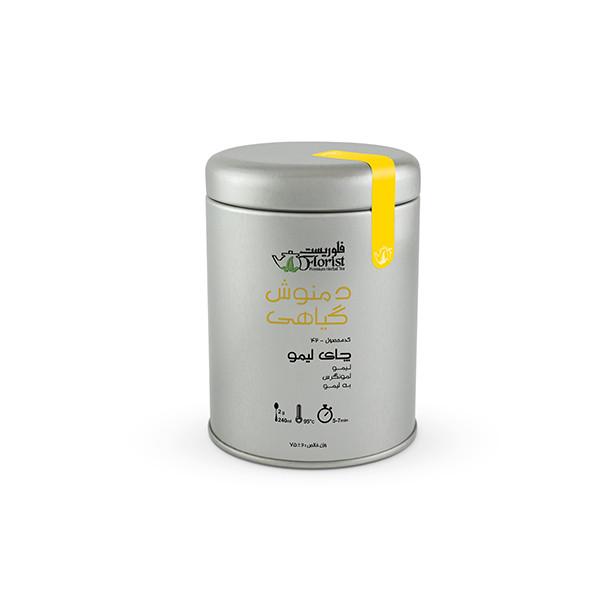 دمنوش چای لیمو فلوریست مقدار 75 گرم