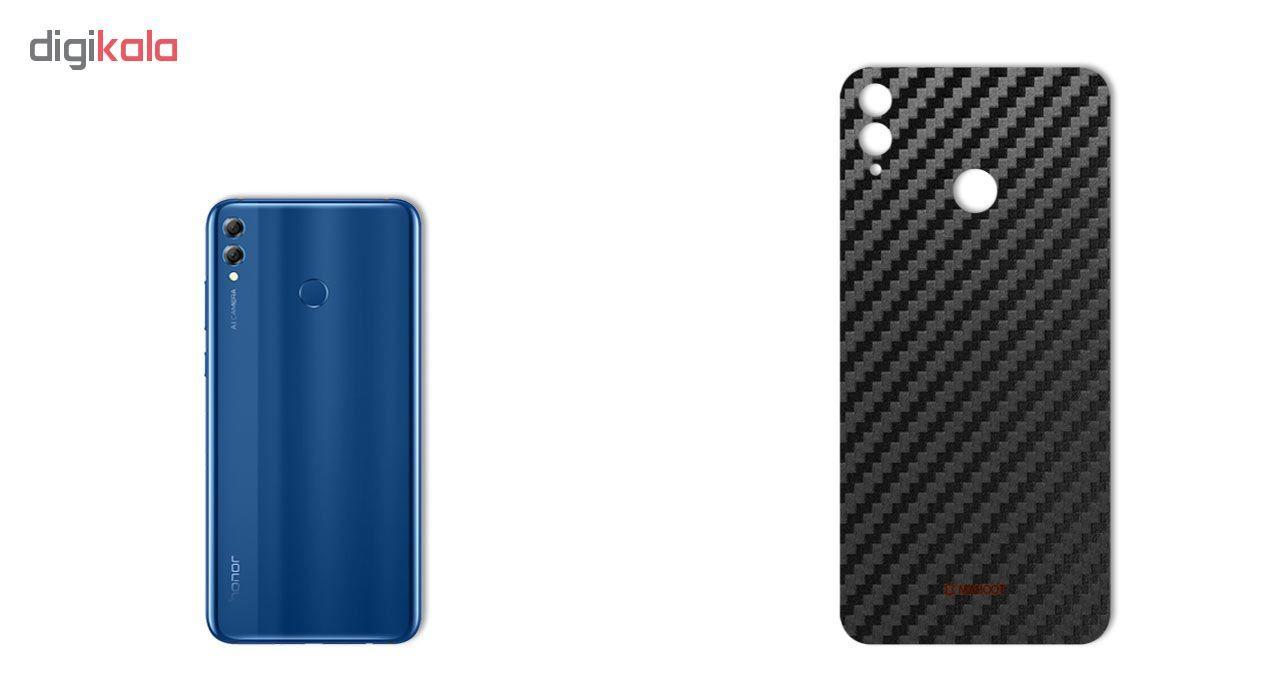 برچسب پوششی ماهوت مدل Carbon-fiber Texture مناسب برای گوشی   HUAWEI HONOR 8X main 1 1