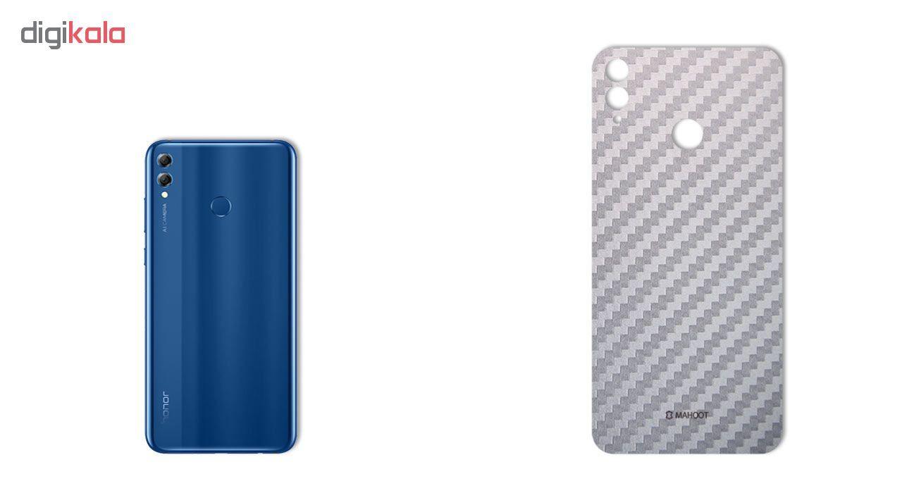 برچسب پوششی ماهوت مدل Carbon-fiber Texture مناسب برای گوشی   HUAWEI HONOR 8X main 1 3