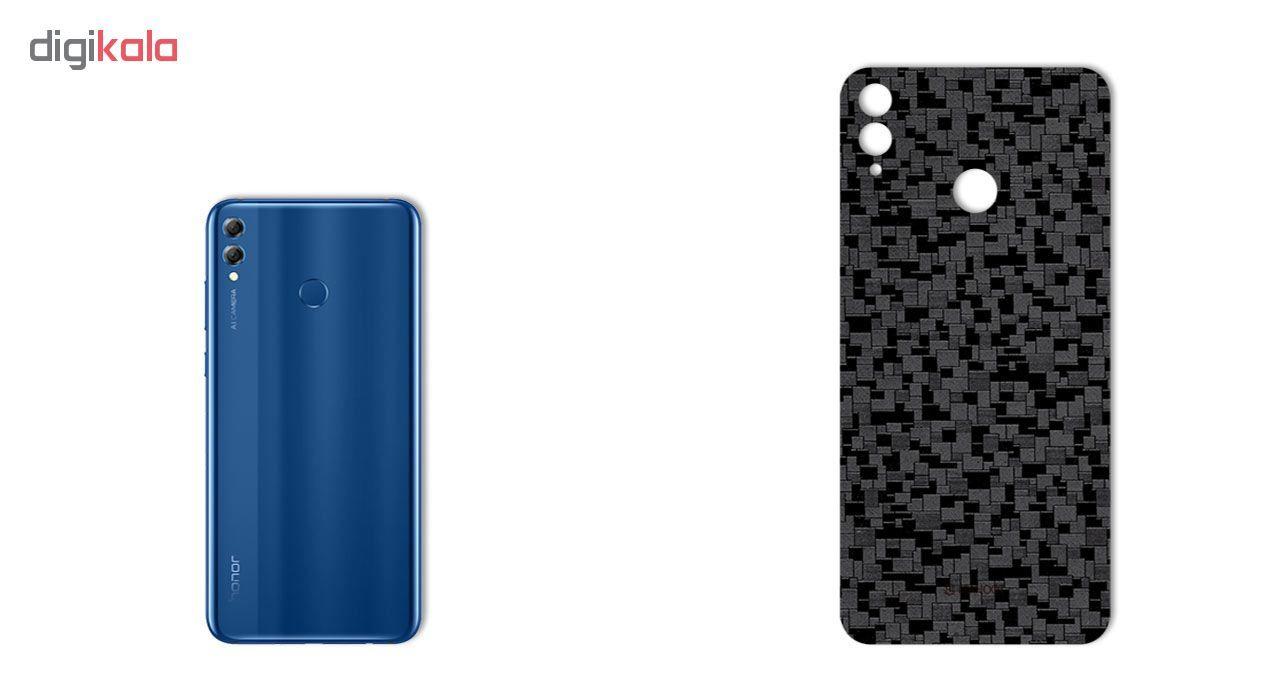 برچسب پوششی ماهوت مدل Silicon Texture مناسب برای گوشی   HUAWEI HONOR 8X main 1 1