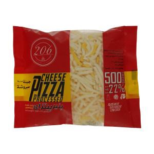 پنیر پیتزا پروسس رنده شده 206 - 500 گرم