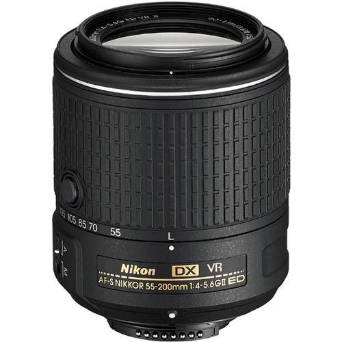 لنز مدل AF-S DX NIKKOR 55-200mm f/4-5.6G ED VR II