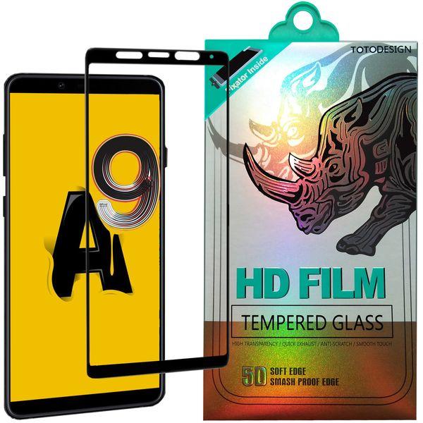 محافظ صفحه نمایش توتو تمام چسب مدل HD1075D مناسب برای گوشی موبایل سامسونگ A9 -2018