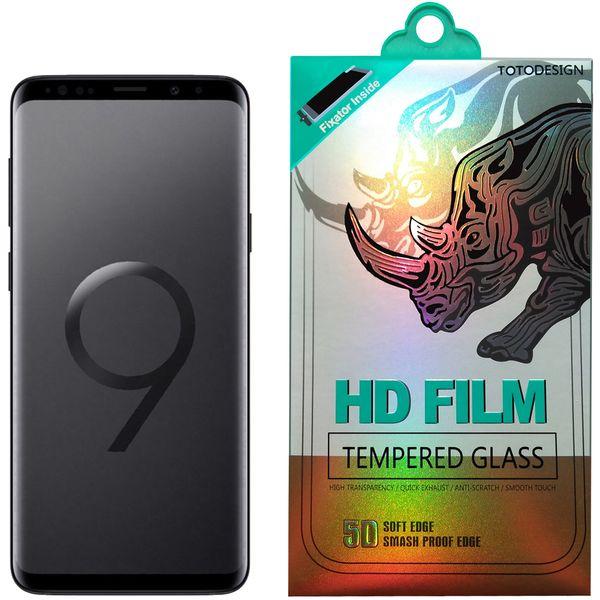 محافظ صفحه نمایش توتو تمام چسب مدل HD1075D مناسب برای گوشی موبایل سامسونگ S9