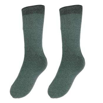 جوراب مردانه آلمانی  نوردای  سبز کد 496530/3 بسته 3 عددی