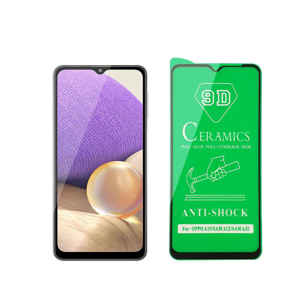 محافظ صفحه نمایش سرامیکی مدل FLCRG01pl مناسب برای گوشی موبایل سامسونگ Galaxy A32