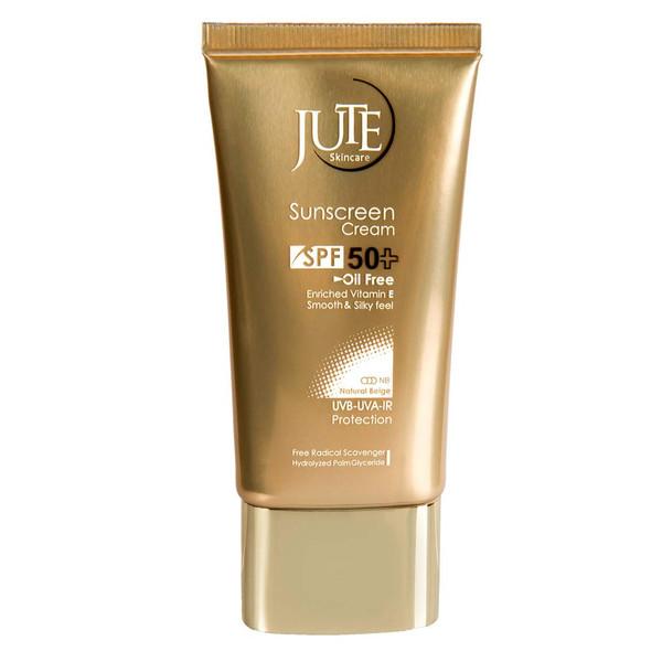 کرم ضد آفتاب بی رنگ ژوت مدل Cosmetics spf 50 حجم 40 میلی لیتر