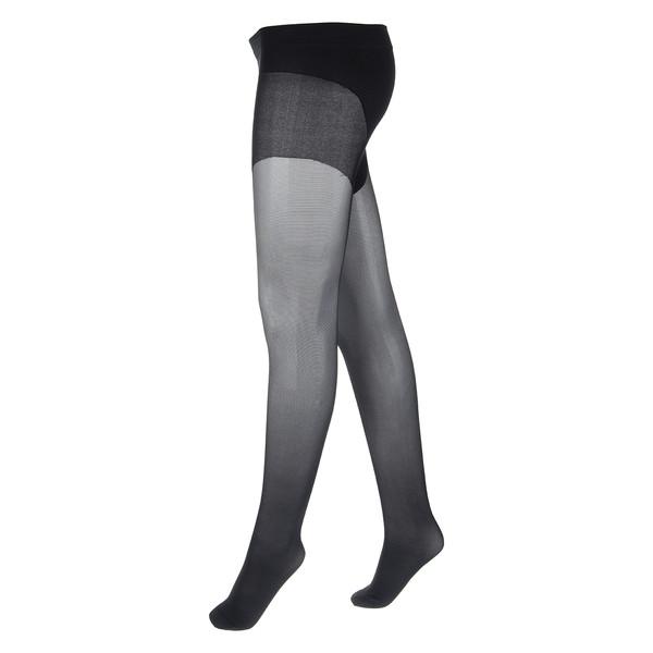 جوراب شلواری آلمانی زنانه بلامی مشکی  کد390031 بسته 2 عددی
