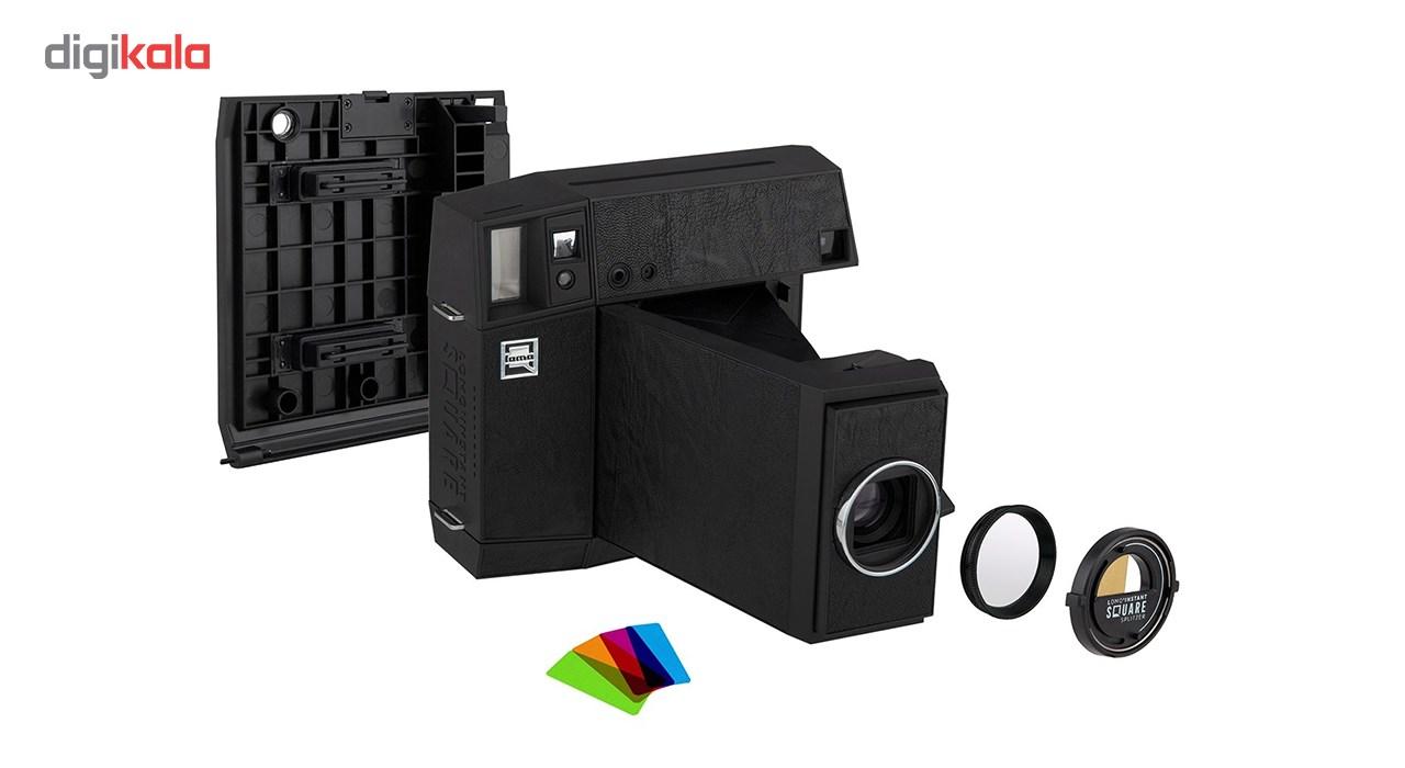 دوربین چاپ سریع لوموگرافی مدل Lomo Instant Square Glass Combo