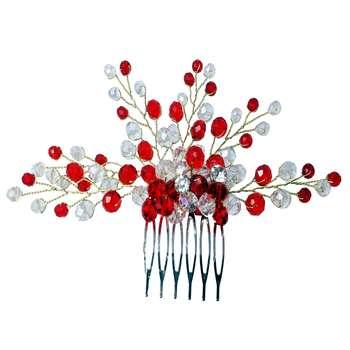 شانه سر گالری تویین مدل Red Fashion کد T161