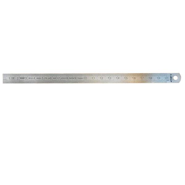 خط کش فلزی لیمیت سایز 20 سانتی متر