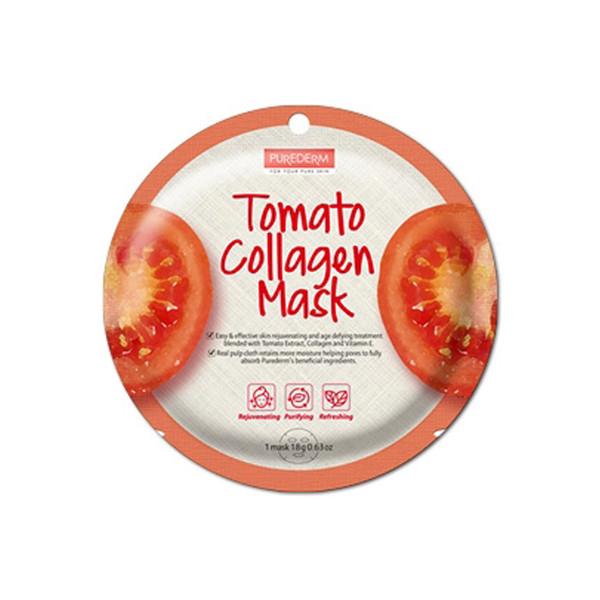 ماسک صورت  پیوردرم مدل Tomato Collagen کد 1
