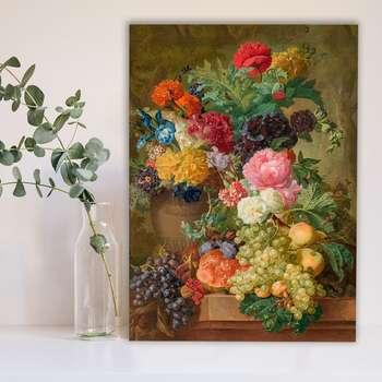 تابلوشاسی گالری استاربوی طرح گل و گلدان مدل Amazing 250