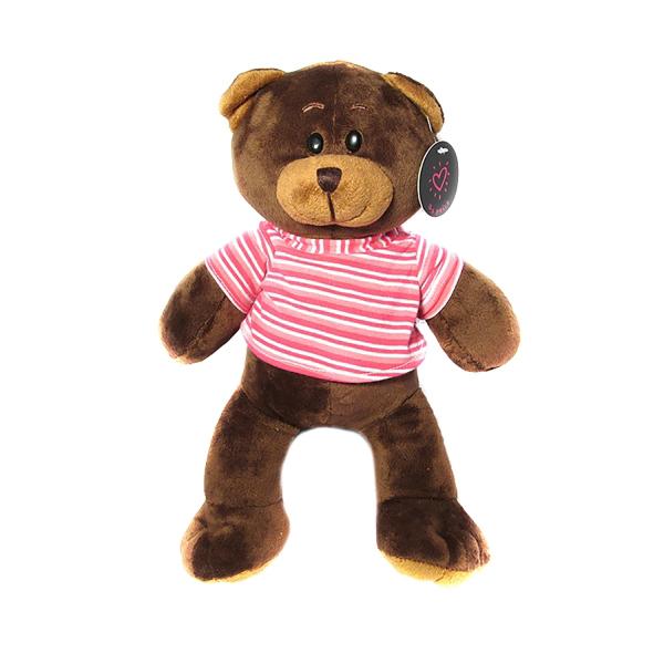عروسک پالیز خرس کد NDS072 ارتفاع 28 سانتی متر