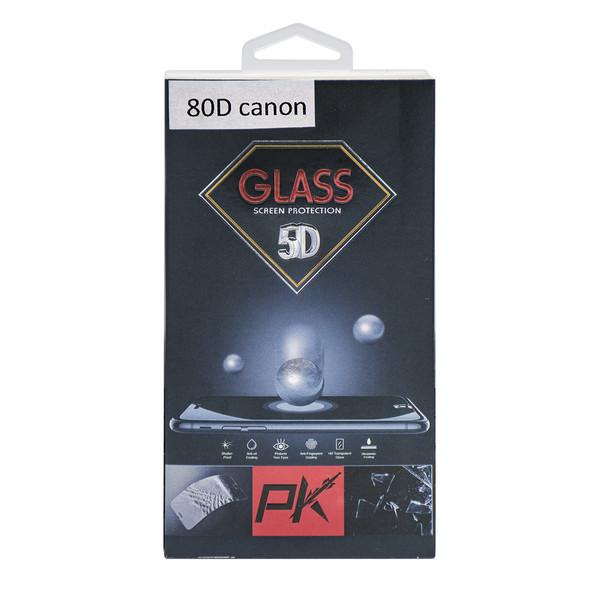 محافظ صفحه نمایش دوربین پی کی مدل P80D مناسب برای کانن 80D