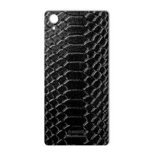 برچسب پوششی ماهوت مدل Snake Leather مناسب برای گوشی  Sony Xperia X