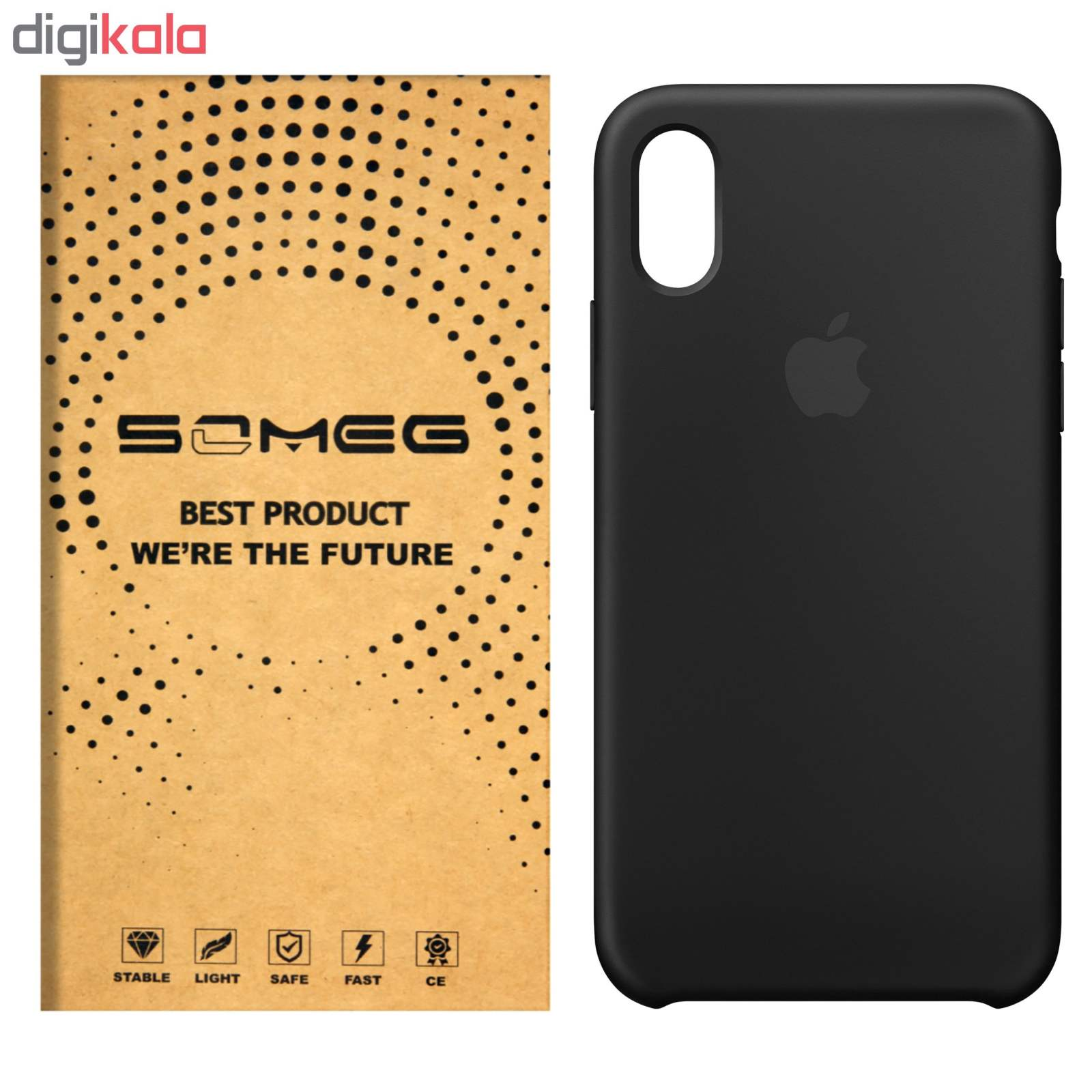 کاور سومگ مدل SIC مناسب برای گوشی موبایل اپل iPhone X  main 1 1