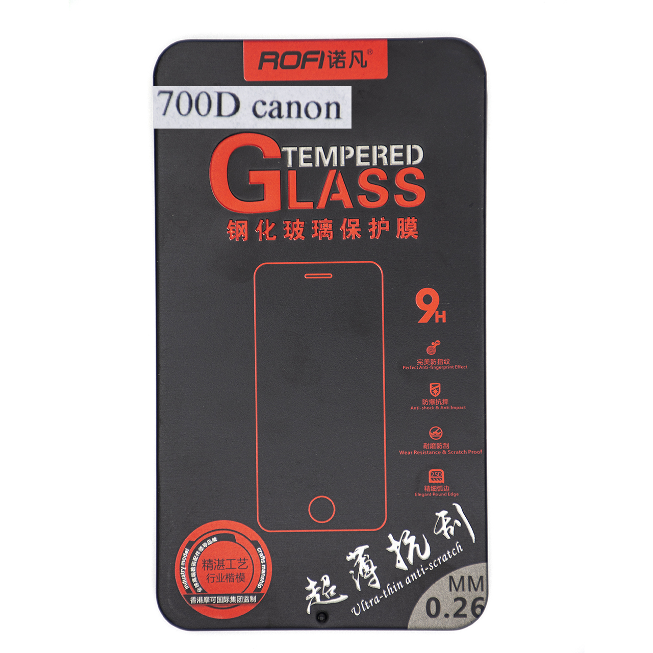 بررسی و {خرید با تخفیف} محافظ صفحه نمایش دوربین روفی مدل R700D مناسب برای کانن 700D اصل