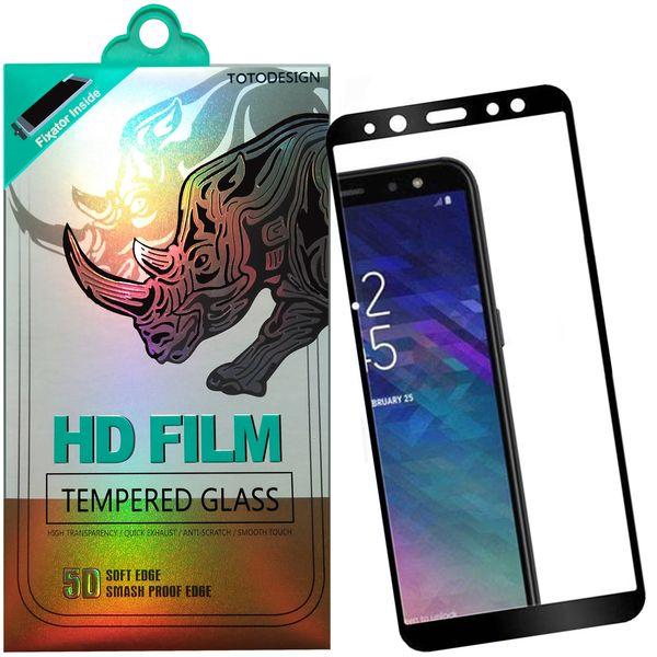 محافظ صفحه نمایش توتو مدل HD1075D نانو تمام چسب مناسب برای گوشی موبایل سامسونگ A6-2017