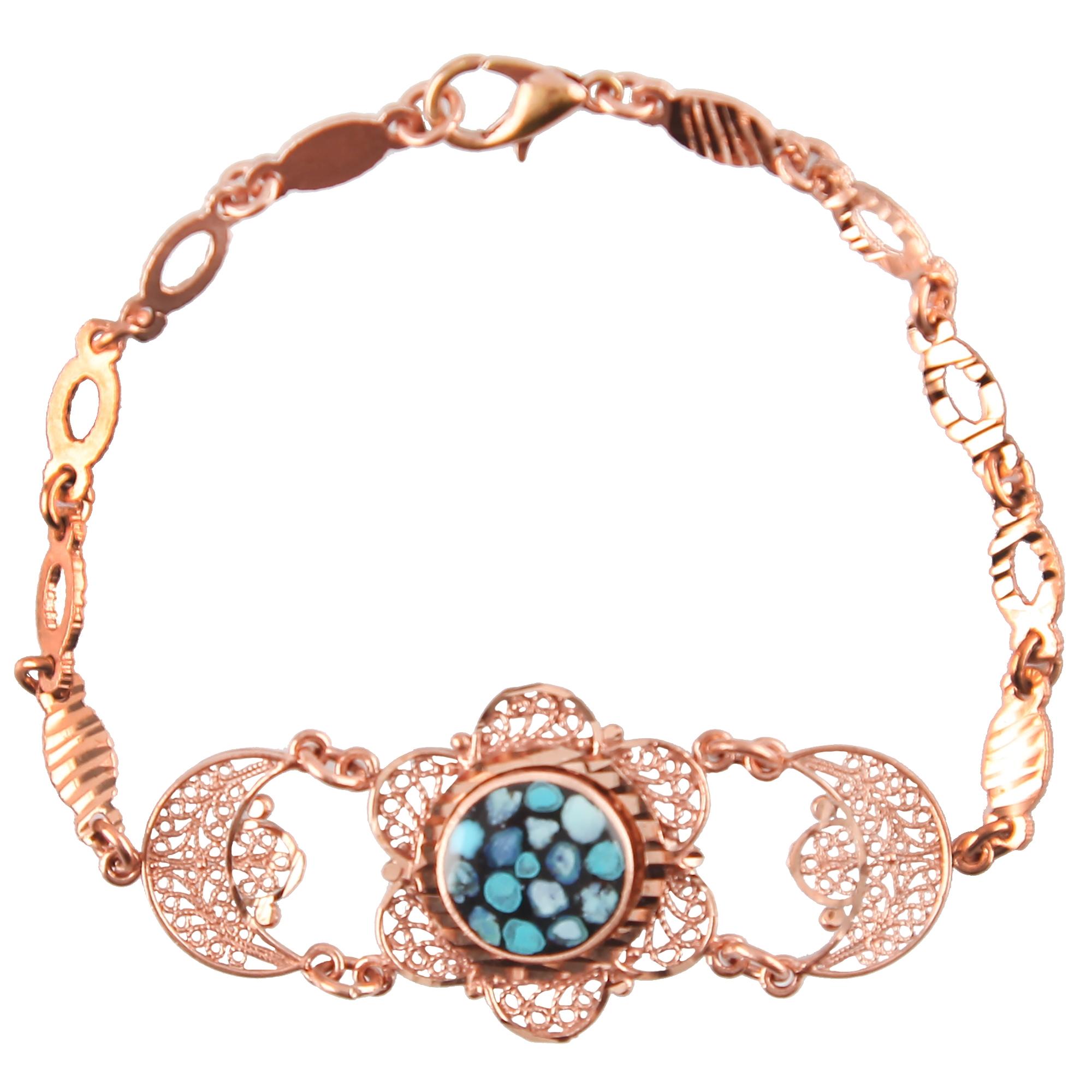 دستبند مسی گالری مثالین کد 149168