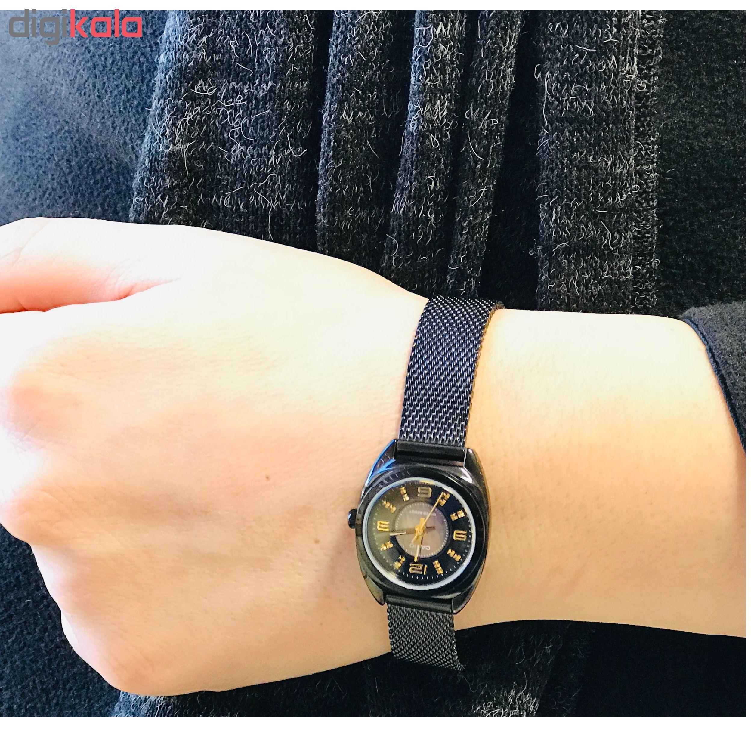 ساعت مچی عقربه ای زنانه کاسیو مدل LTP-1363BD-1ADR