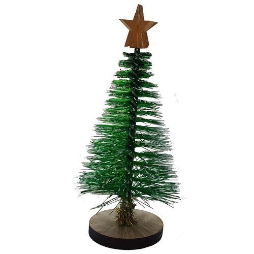 درخت تزیینی کریسمس مدل KT  ارتفاع 10 سانتی متر