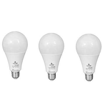 لامپ 12 وات ال ای دی ایران زمین مدل A90 بسته 3 عددی  
