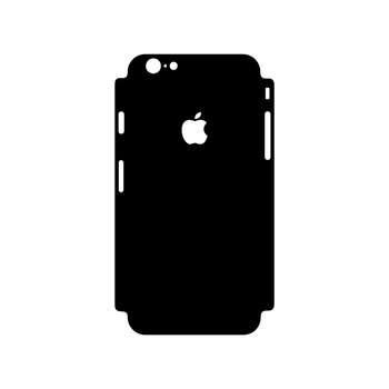 برچسب پوششی مدل Glossy black104 مناسب برای گوشی موبایل اپل Iphone 6/6s