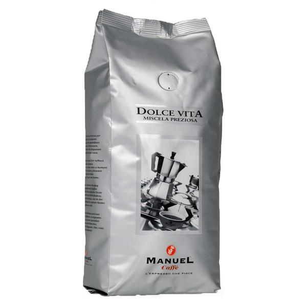 دانه قهوه مانوئل کافه مدل dolce vita مقدار 500 گرم