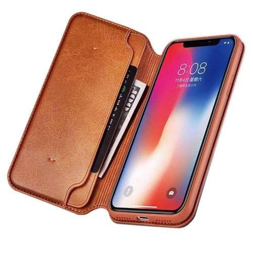 کیف کلاسوری یاندو مدل GRA SERIES مناسب برای گوشی موبایل اپل مدل iPhone XS MAX