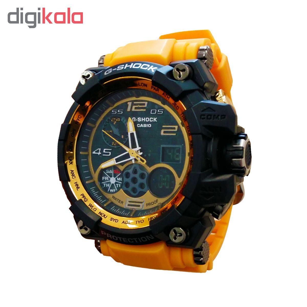خرید ساعت مچی عقربه ای مردانه جی شاک کد A3