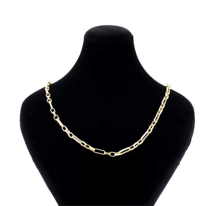 قیمت زنجیر طلا 18 عیار طرح سپاهان 3 تا کوچیک یکی بزرگ