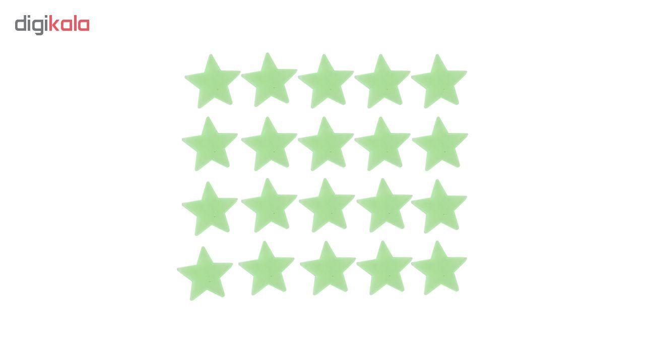 ستاره شب تاب فلورنسنت مدل Green  Natural Light main 1 1