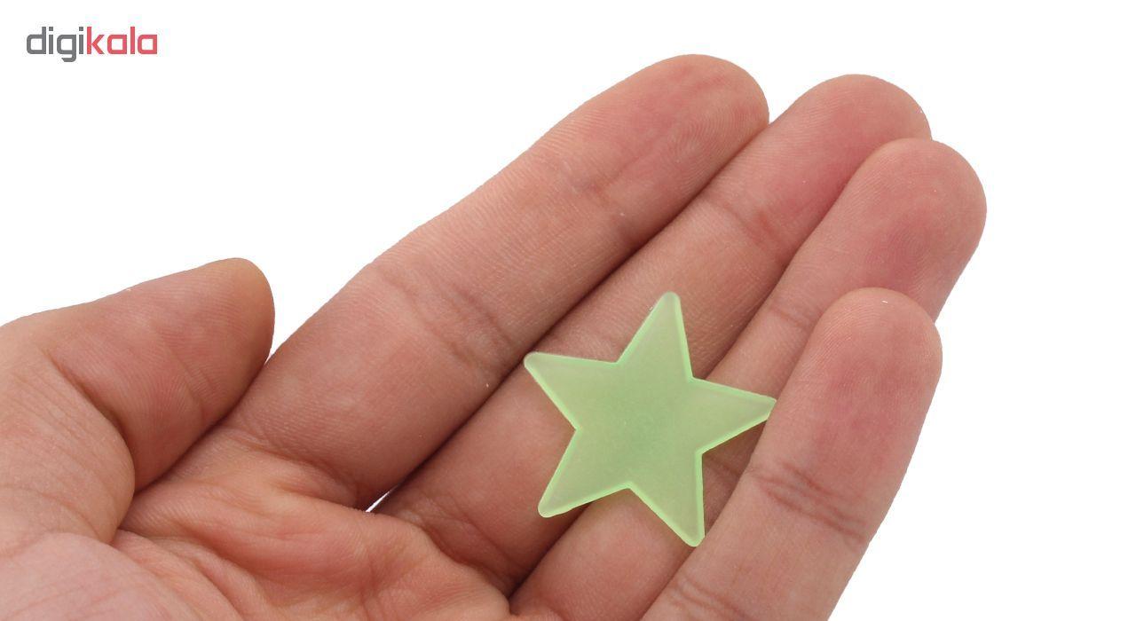 ستاره شب تاب فلورنسنت مدل Green  Natural Light main 1 3