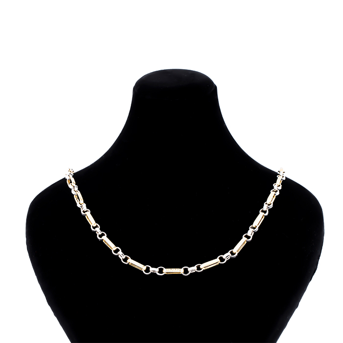 زنجیر طلا 18 عیار طرح رومی مدل سپاهان