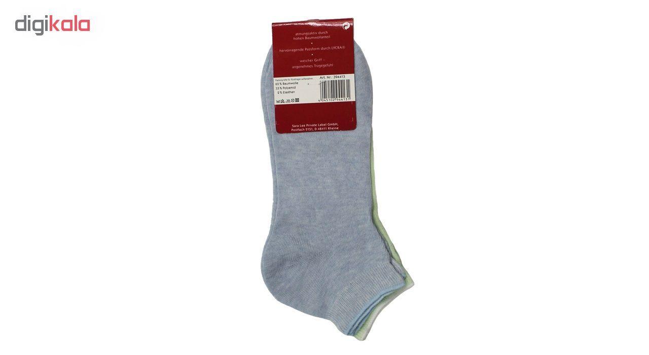 جوراب مردانه نوردای آلمانی آبی سبز کد 394413/1 بسته 4 عددی main 1 5