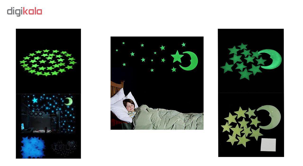 ستاره شب تاب فلورنسنت مدل Green  Natural Light main 1 2