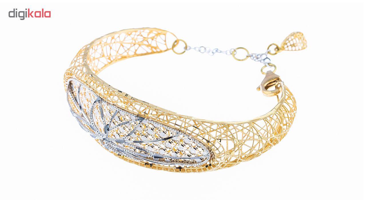 دستبند طلا 18 عیار کد 227