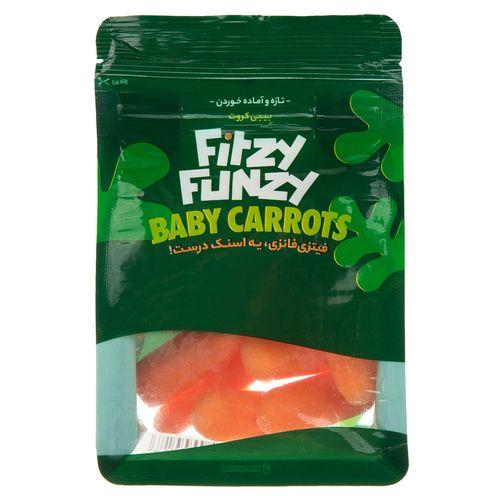 اسنک بچه هویج فیتزی فانزی مقدار 65 گرم