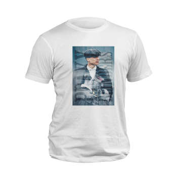 تیشرت آستین کوتاه مردانه مدل پیکی بلایندرز کد 57S