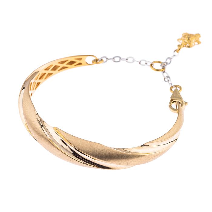 دستبند طلا 18 عیار کد 239