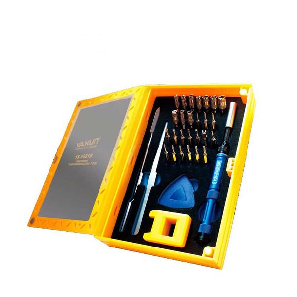 مجموعه 32 عددی سری پیچ گوشتی و بکس یاکسون مدل YX-6021B