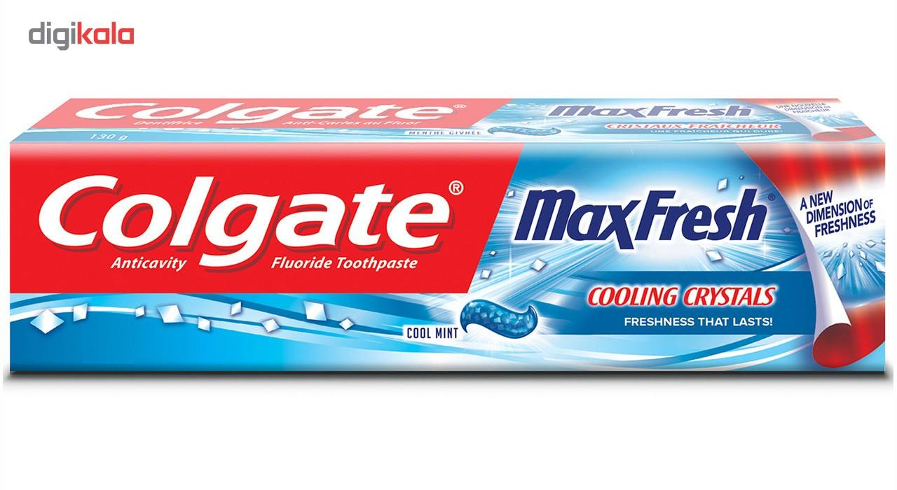 خمیر دندان کلگیت مدل Max Fresh Blue حجم 100 میلی لیتر main 1 1
