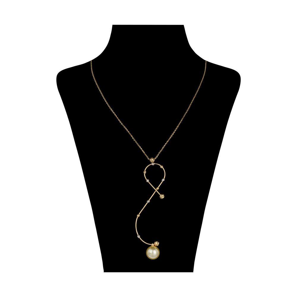 گردنبند طلا 18 عیار زنانه سیودو مدل 146856