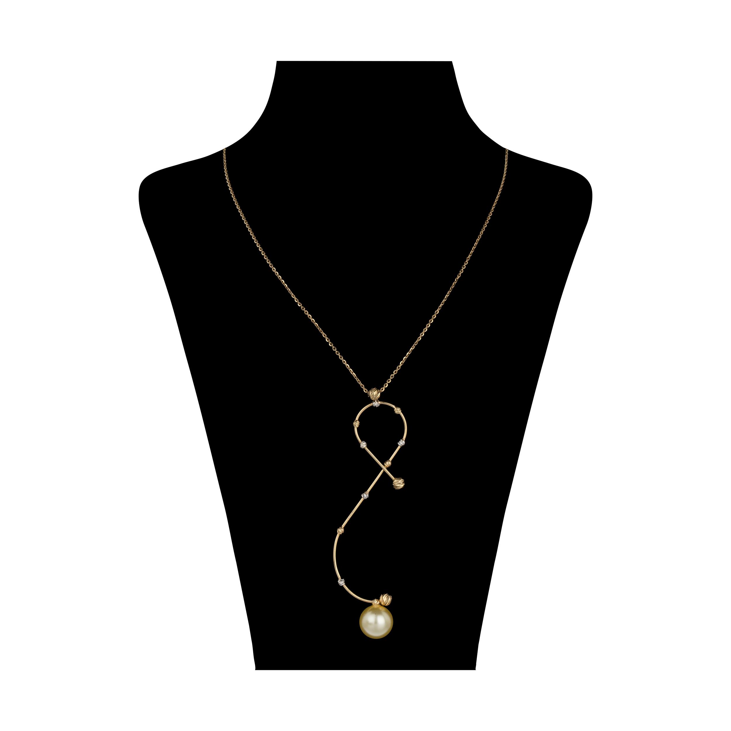 گردنبند طلا 18 عیار زنانه سیودو مدل 146856 -  - 2